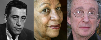 JD Salinger, Toni Morrison, CK Williams